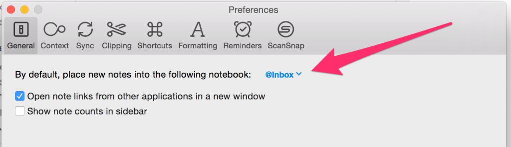 Evernote recurring reminders